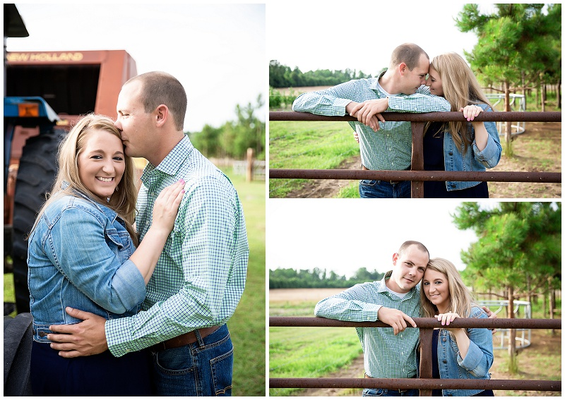 Brittany + Chad | Florence, SC Engagement Photography ...